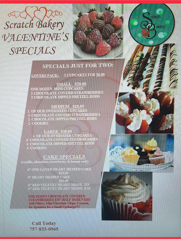 Valentine's Day Specials!