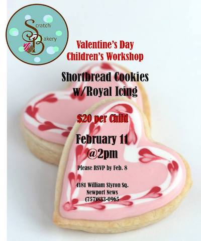 Valentine's Day Children's Workshop - Shortbread Cookies